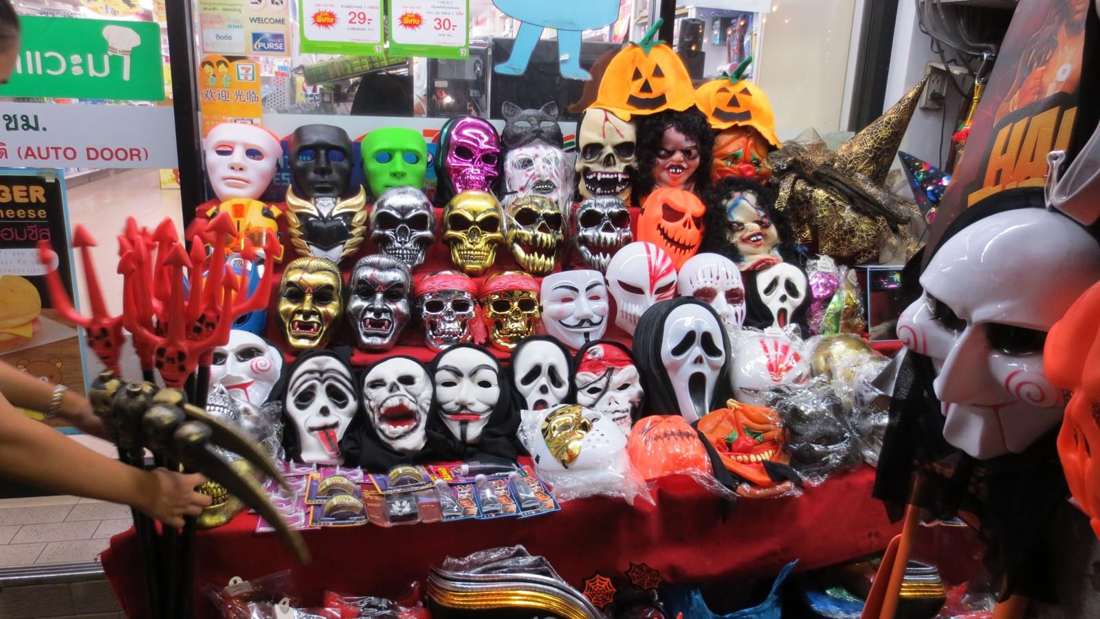 Halloween kväll 31 oktober 2015 i Pattaya City