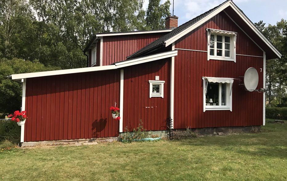 Underhållsarbete i fastigheten Åbytorp sommaren 2017