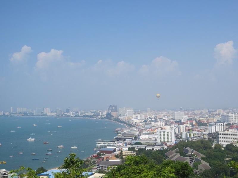 Utsikter från Pratamnak Hill