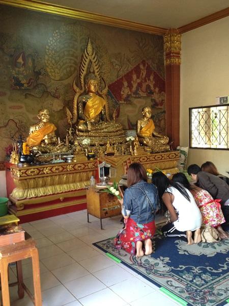 Tempelbesök på födelsedagen, 4 januari 2014